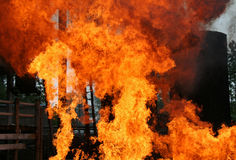 πυρκαγιά κινδύνου Στοκ Εικόνες