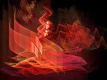 πυρκαγιά κροτίδων διανυσματική απεικόνιση