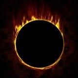 πυρκαγιά κύκλων διανυσματική απεικόνιση