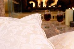 πυρκαγιά μαξιλαριών Στοκ Φωτογραφίες