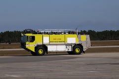 πυρκαγιά μηχανών αερολιμέ&nu Στοκ Φωτογραφία