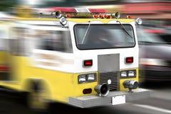 πυρκαγιά μηχανών Στοκ Εικόνες