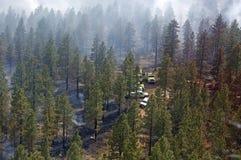 πυρκαγιά μηχανών Στοκ Εικόνα
