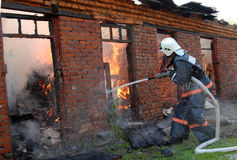 πυρκαγιά μικρή Στοκ φωτογραφία με δικαίωμα ελεύθερης χρήσης