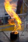 πυρκαγιά ολυμπιακή Στοκ Φωτογραφία