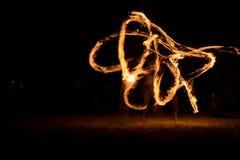 Πυρκαγιά πανσελήνων στοκ εικόνες με δικαίωμα ελεύθερης χρήσης