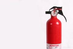 πυρκαγιά πυροσβεστήρων που απομονώνεται Στοκ εικόνα με δικαίωμα ελεύθερης χρήσης