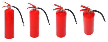 πυρκαγιά πυροσβεστήρων Στοκ φωτογραφίες με δικαίωμα ελεύθερης χρήσης