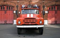 πυρκαγιά ρωσικά μηχανών Στοκ εικόνα με δικαίωμα ελεύθερης χρήσης