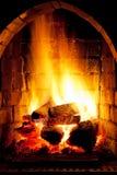 Πυρκαγιά στην εστία στοκ φωτογραφίες με δικαίωμα ελεύθερης χρήσης