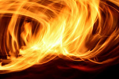 Πυρκαγιά στην κίνηση Στοκ Εικόνες