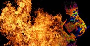 Πυρκαγιά στοιχείων Στοκ Εικόνες