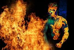 Πυρκαγιά στοιχείων Στοκ Φωτογραφίες