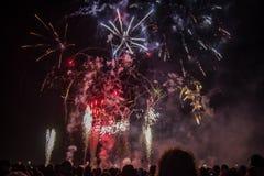 Πυρκαγιά στον ουρανό Στοκ εικόνα με δικαίωμα ελεύθερης χρήσης