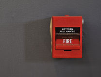 πυρκαγιά συναγερμών Στοκ φωτογραφία με δικαίωμα ελεύθερης χρήσης