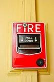 πυρκαγιά συναγερμών Στοκ εικόνα με δικαίωμα ελεύθερης χρήσης