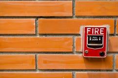 πυρκαγιά συναγερμών Στοκ Φωτογραφία