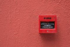 πυρκαγιά συναγερμών Στοκ Εικόνες