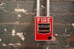 πυρκαγιά συναγερμών Στοκ εικόνες με δικαίωμα ελεύθερης χρήσης
