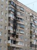 πυρκαγιά συνεπειών στοκ εικόνες με δικαίωμα ελεύθερης χρήσης