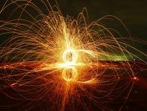 Πυρκαγιά σφαιρών δύναμης Στοκ φωτογραφίες με δικαίωμα ελεύθερης χρήσης