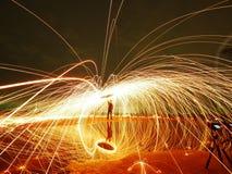 Πυρκαγιά σφαιρών δύναμης Στοκ Εικόνες