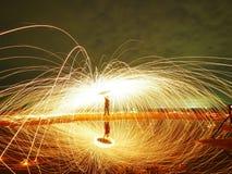 Πυρκαγιά σφαιρών δύναμης Στοκ Φωτογραφίες