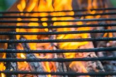 Πυρκαγιά σχαρών σχαρών στοκ εικόνες
