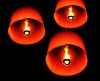 πυρκαγιά Ταϊλανδός μπαλονιών στοκ εικόνα με δικαίωμα ελεύθερης χρήσης