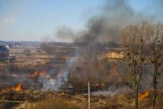 Πυρκαγιά τομέων Στοκ φωτογραφία με δικαίωμα ελεύθερης χρήσης