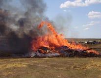 πυρκαγιά τόξων Στοκ εικόνες με δικαίωμα ελεύθερης χρήσης