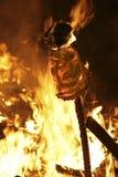 πυρκαγιά φεστιβάλ Στοκ φωτογραφία με δικαίωμα ελεύθερης χρήσης