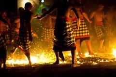 πυρκαγιά χορού kecak