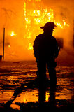Πυρκαγιά 01-07-2012 κατασκευής DuBois Στοκ Εικόνα