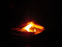 πυρκαγιά 2 στρατόπεδων Στοκ Φωτογραφίες