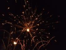 Πυρκαγιά Creacker Στοκ εικόνες με δικαίωμα ελεύθερης χρήσης