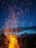 Πυρκαγιά fireflies Στοκ Φωτογραφία