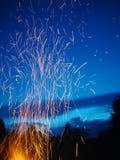 Πυρκαγιά fireflies Στοκ φωτογραφίες με δικαίωμα ελεύθερης χρήσης