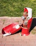 Πυρκαγιά Hidrant Στοκ φωτογραφία με δικαίωμα ελεύθερης χρήσης