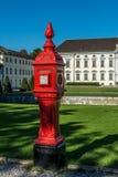 Πυρκαγιά Hidrant Bellevue Castle Βερολίνο Στοκ εικόνα με δικαίωμα ελεύθερης χρήσης