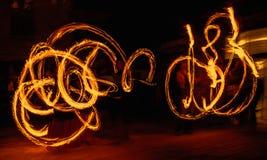 Πυρκαγιά symetrie Στοκ Φωτογραφία