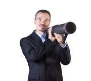 Πυροβολήστε το στόχο με την παρουσίασή σας. Στοκ φωτογραφία με δικαίωμα ελεύθερης χρήσης