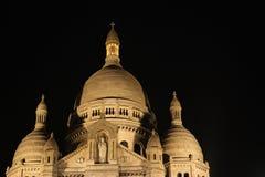 Πυροβοληθείς νύχτα τρόμος Coeur στοκ εικόνα με δικαίωμα ελεύθερης χρήσης