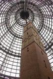 Πυροβοληθείς πύργος κοτετσιού στη Μελβούρνη κεντρική Στοκ Φωτογραφία