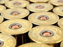 Πυροβοληθε'ντα κοχύλια πυροβόλων όπλων Στοκ Φωτογραφίες