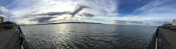 Πυροβοληθε'ν Pano νερό και Στοκ φωτογραφία με δικαίωμα ελεύθερης χρήσης