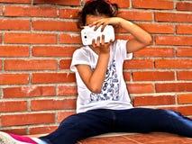 Πυροβολισμός κοριτσιών Στοκ φωτογραφία με δικαίωμα ελεύθερης χρήσης