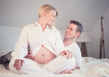 Πυροβολισμός φωτογραφιών μητρότητας Στοκ Φωτογραφία