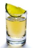 Πυροβολισμός Tequila Στοκ Εικόνα