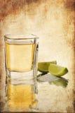 Πυροβολισμός Tequila στοκ εικόνες με δικαίωμα ελεύθερης χρήσης